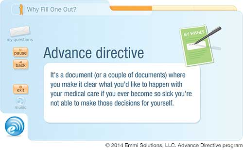 Advance Directives  Durable Power Of Attorney  Virginia Mason