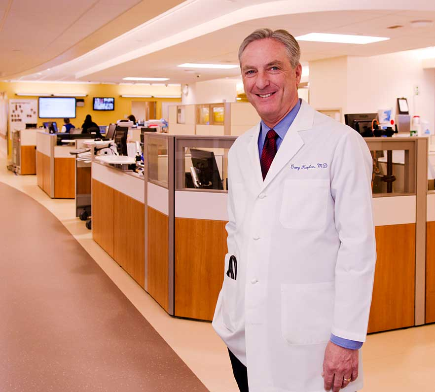 Chairman and CEO Gary S. Kaplan, MD