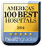 Logo: America's 100 Best Hospitals for 2014