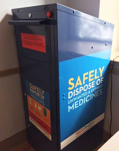 Safe Medication Disposal Kiosk