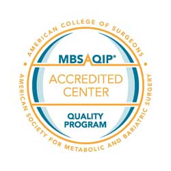 Logo: Metabolic and Bariatric Surgery Accreditation and Quality Improvement Program