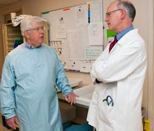 Image: Physicians Michael Gluck, MD, and Geoff Jiranek, MD