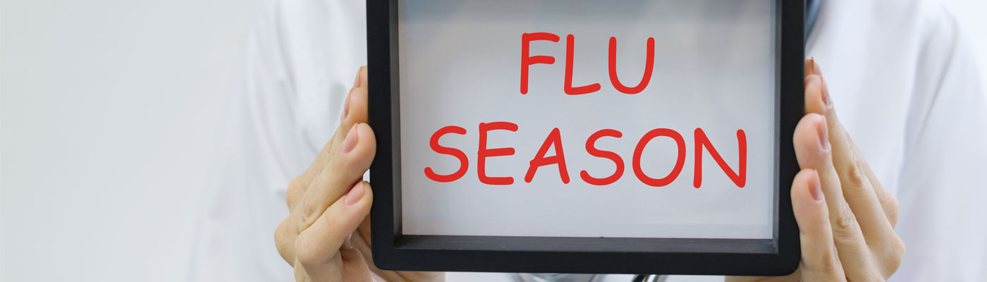 It's flu season. It's not too late for a flu shot. Make an appointment today.