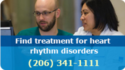 Find treatment for heart rhythm disorders (206) 341-1111