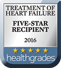 Health Grades 2016 5-Star Award - Heart Failure Treatment