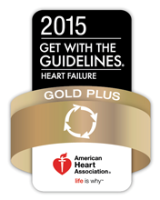 AHA 2015 Gold Award Heart Failure
