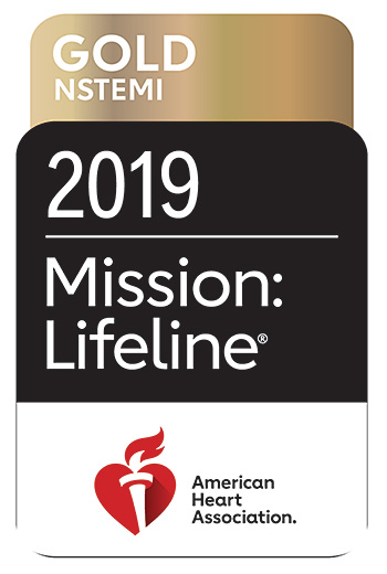 American Heart Association 2019 Mission: Lifeline® NSTEMI Gold Recognition Award