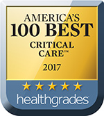 Healthgrade Award Icon - Critical Care