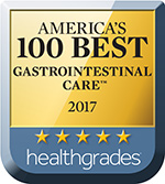 Healthgrade Award Icon - Gastrointestinal Care