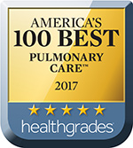 Healthgrade Award Icon - Pulmonary Care