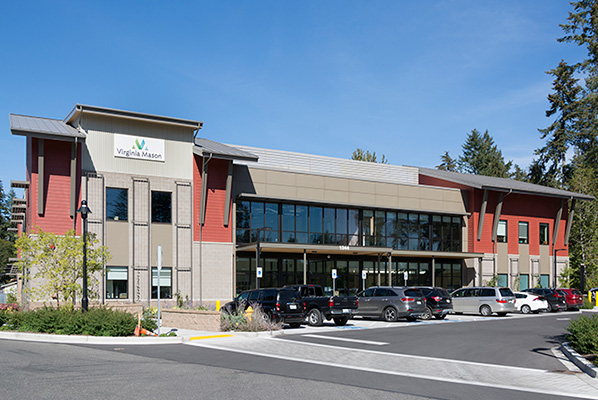 Exterior picture of Virginia Mason Bainbridge Island Medical Center building