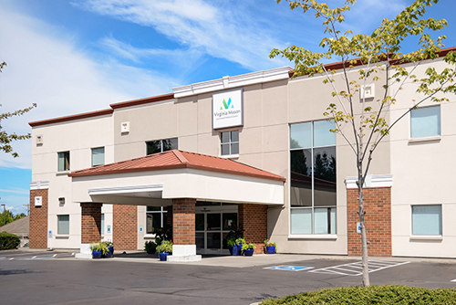 Exterior picture of Virginia Mason Lynnwood Medical Center building