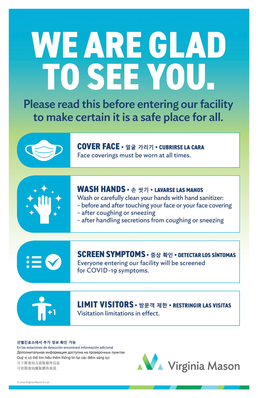 COVID Safety Poster
