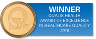 Winner: Qualis Health Award of Excellence in Healthcare Quality - 2016