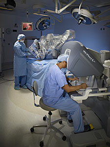 Image: da Vinci Robotic Surgery